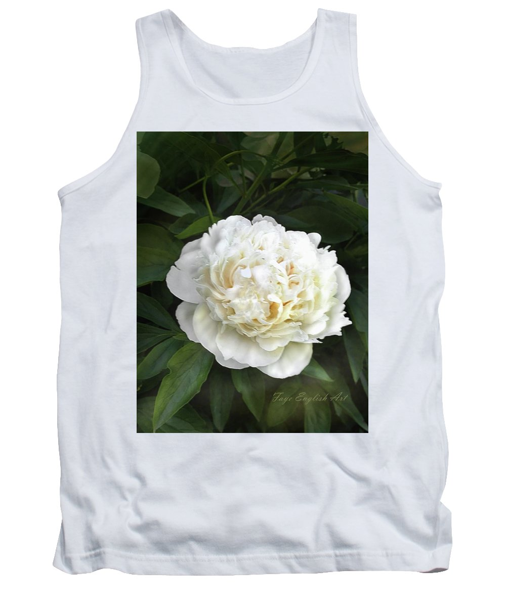 Peony Tank Top featuring the digital art Call It Love by Faye English