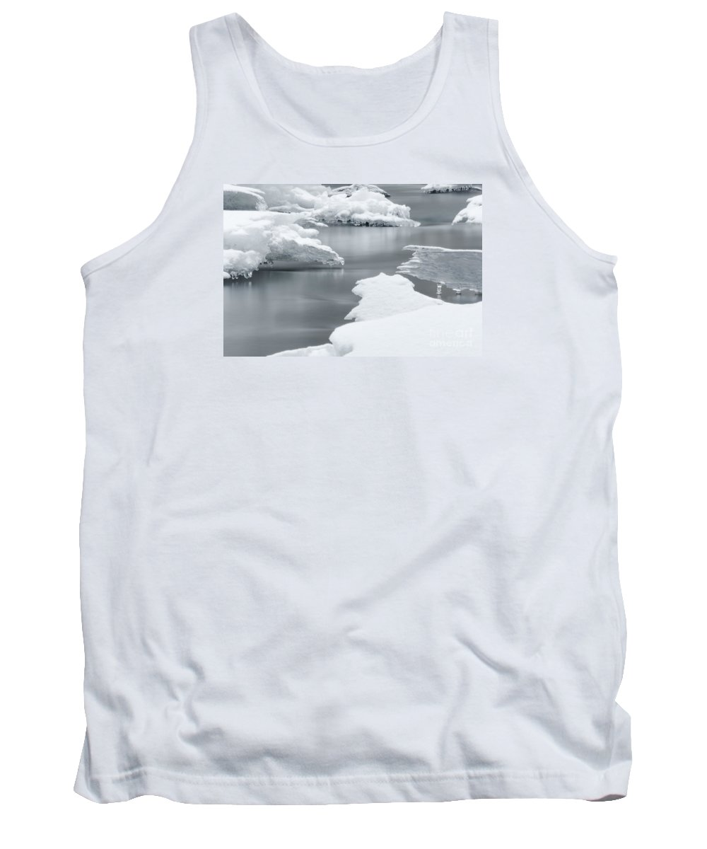 Winter Tank Top featuring the photograph Tranquility by Mellissa Ray