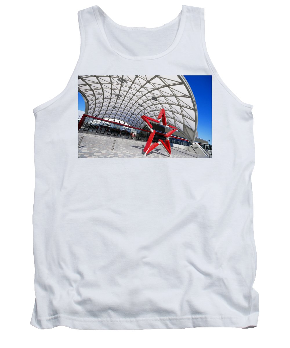 Adelaide Tank Top featuring the photograph Canopied by Wayne Sherriff