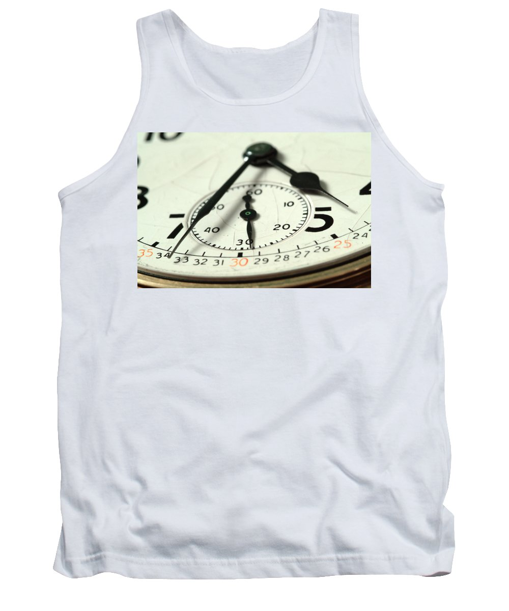 Watch Tank Top featuring the photograph Captured Time by Michael McGowan