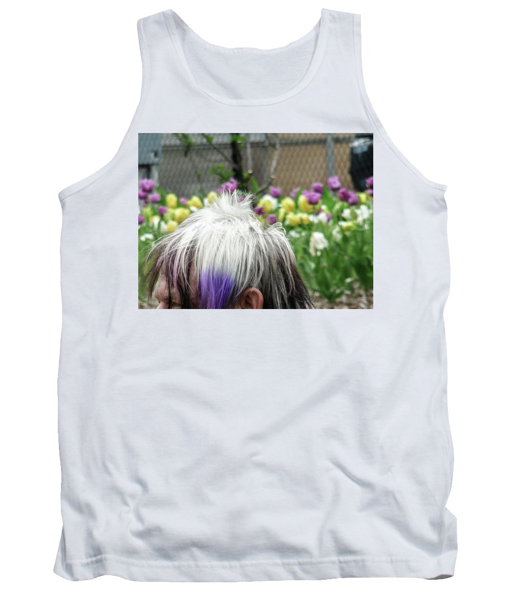 Garden Tank Top featuring the photograph Carpeting Matches Drapes by Vm Vassolo