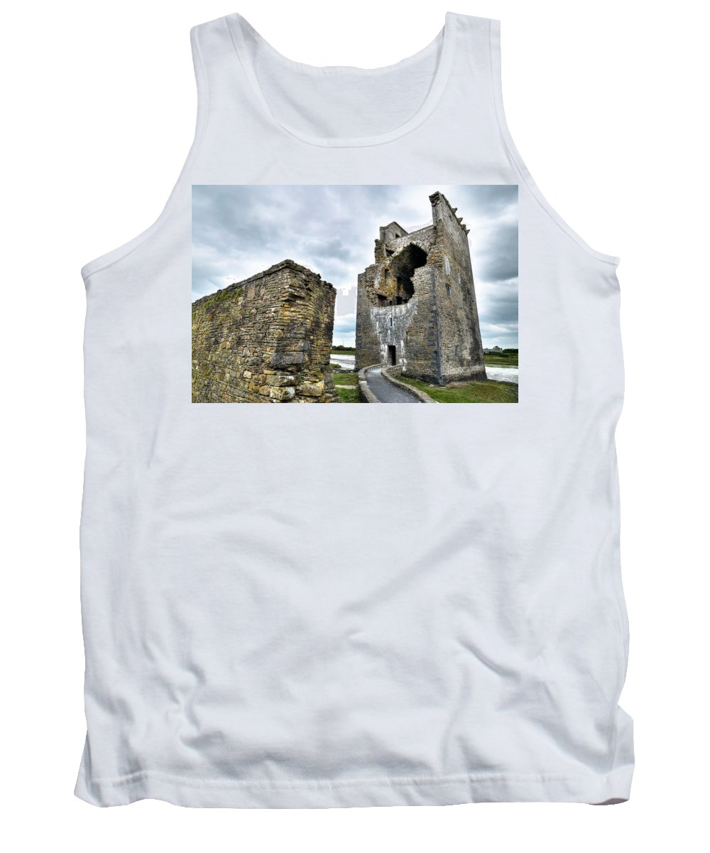 Carrigafoyle Castle Tank Top featuring the photograph Carrigafoyle Castle - Ireland by Joana Kruse