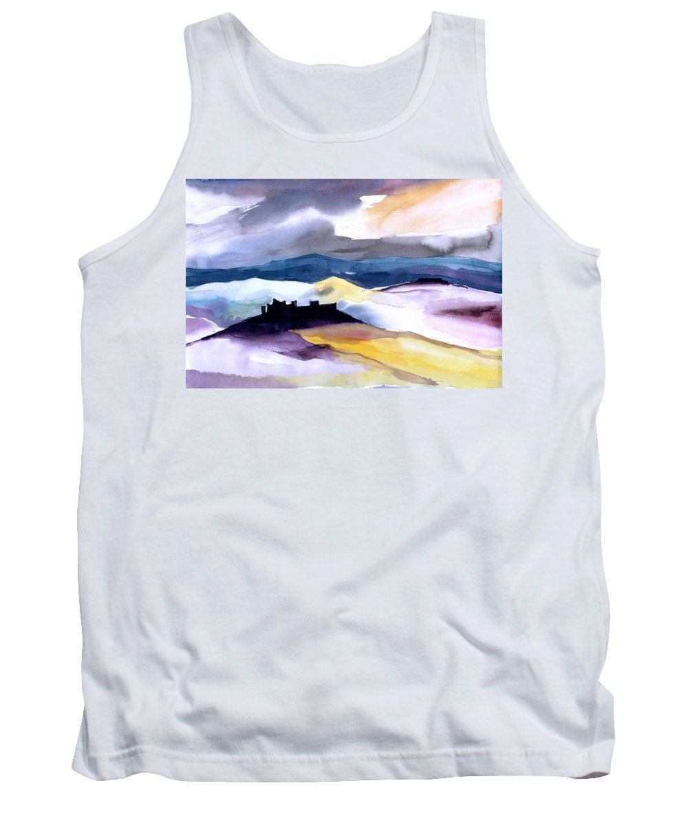 Water Tank Top featuring the painting Castle by Anil Nene