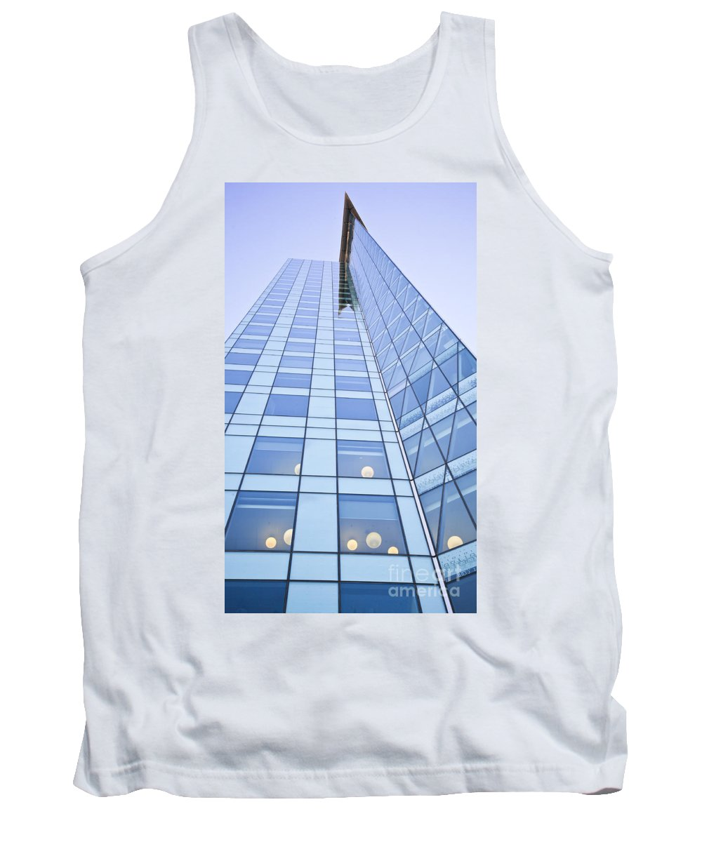Central City Tank Top featuring the photograph Central City by Chris Dutton