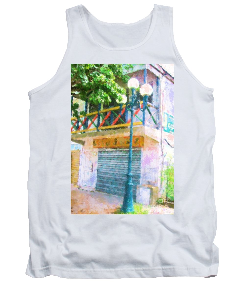 St. Martin Tank Top featuring the photograph Cest La Vie by Debbi Granruth