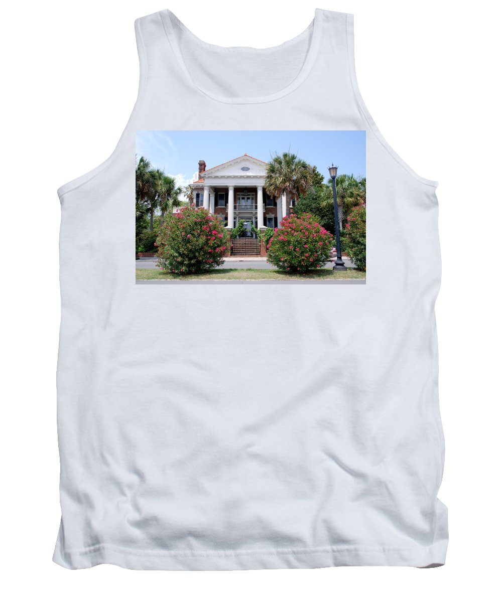 Photography Tank Top featuring the photograph Charleston At His Best by Susanne Van Hulst