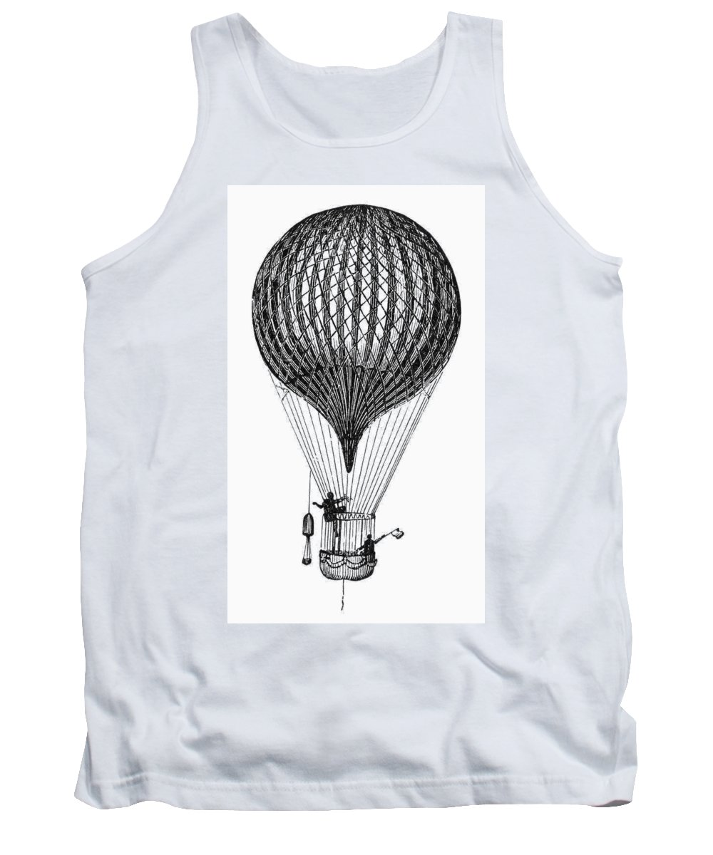 1783 Tank Top featuring the photograph Charli�re Balloon by Granger