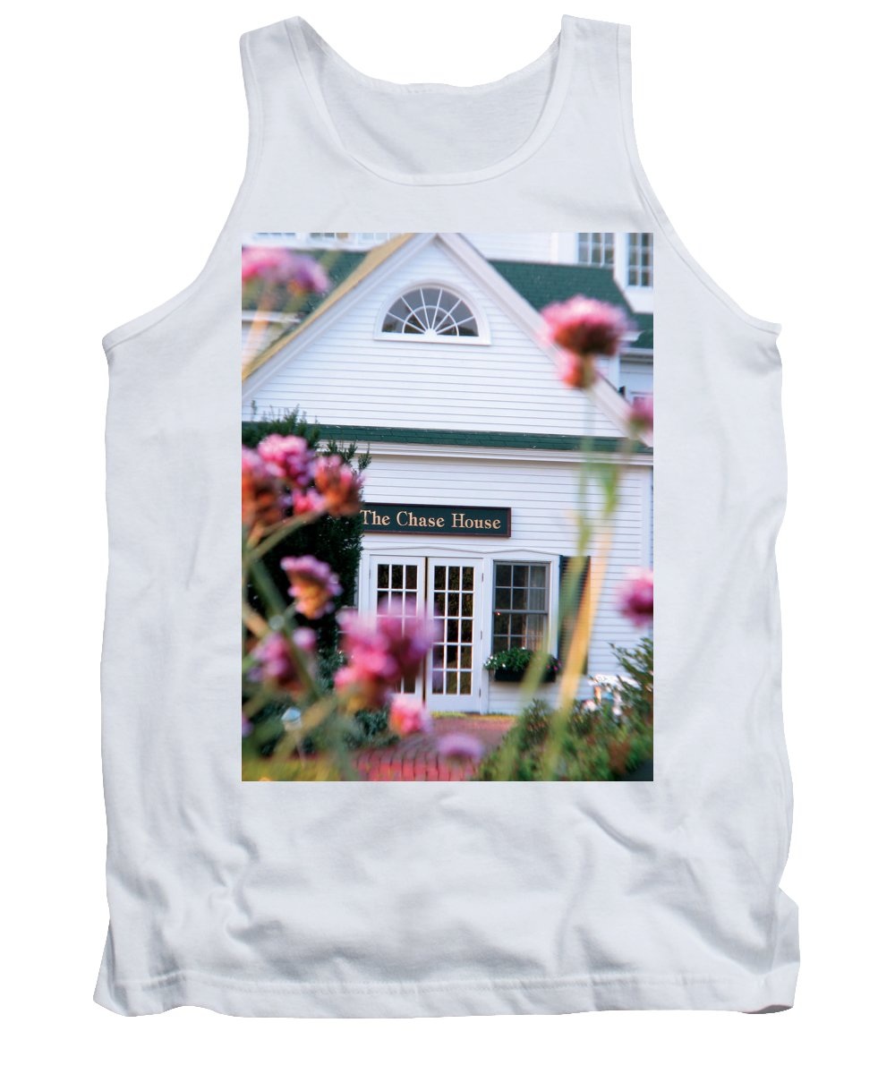 The Chase House Tank Top featuring the photograph Chase House by Michael Mooney