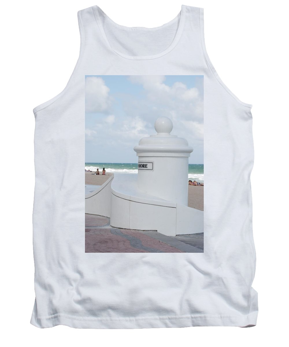 Shore Tank Top featuring the photograph Chess Pawn Shore by Rob Hans