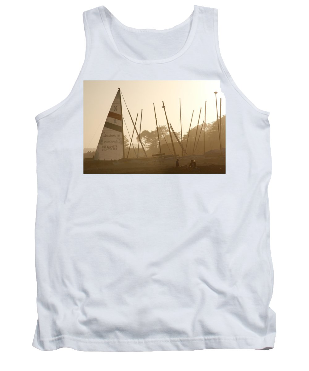 Ship Tank Top featuring the photograph Child's Play by Marilyn Hunt