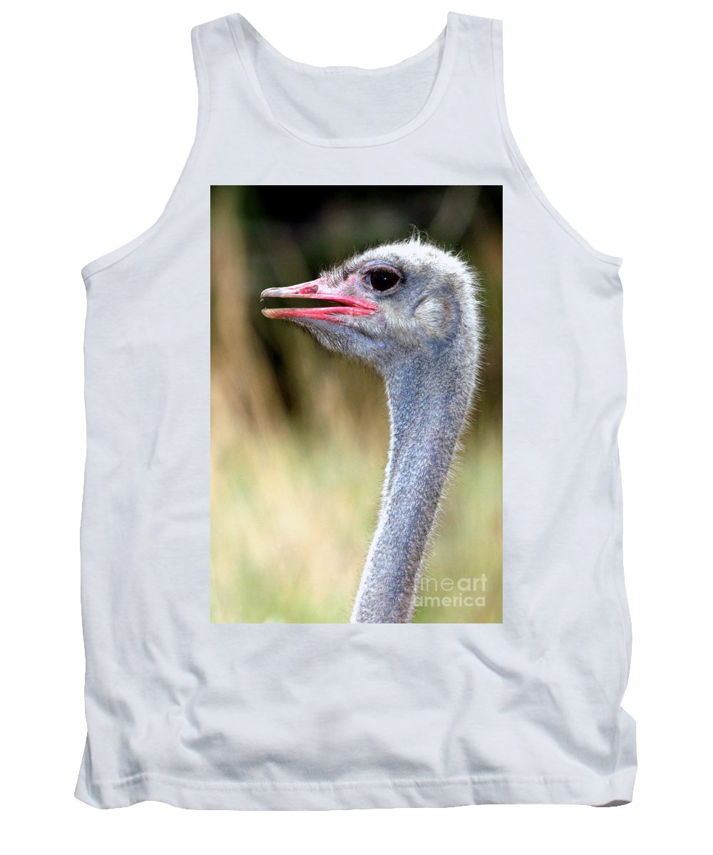 Africa Tank Top featuring the photograph Chiropractic Bill by Alan Look