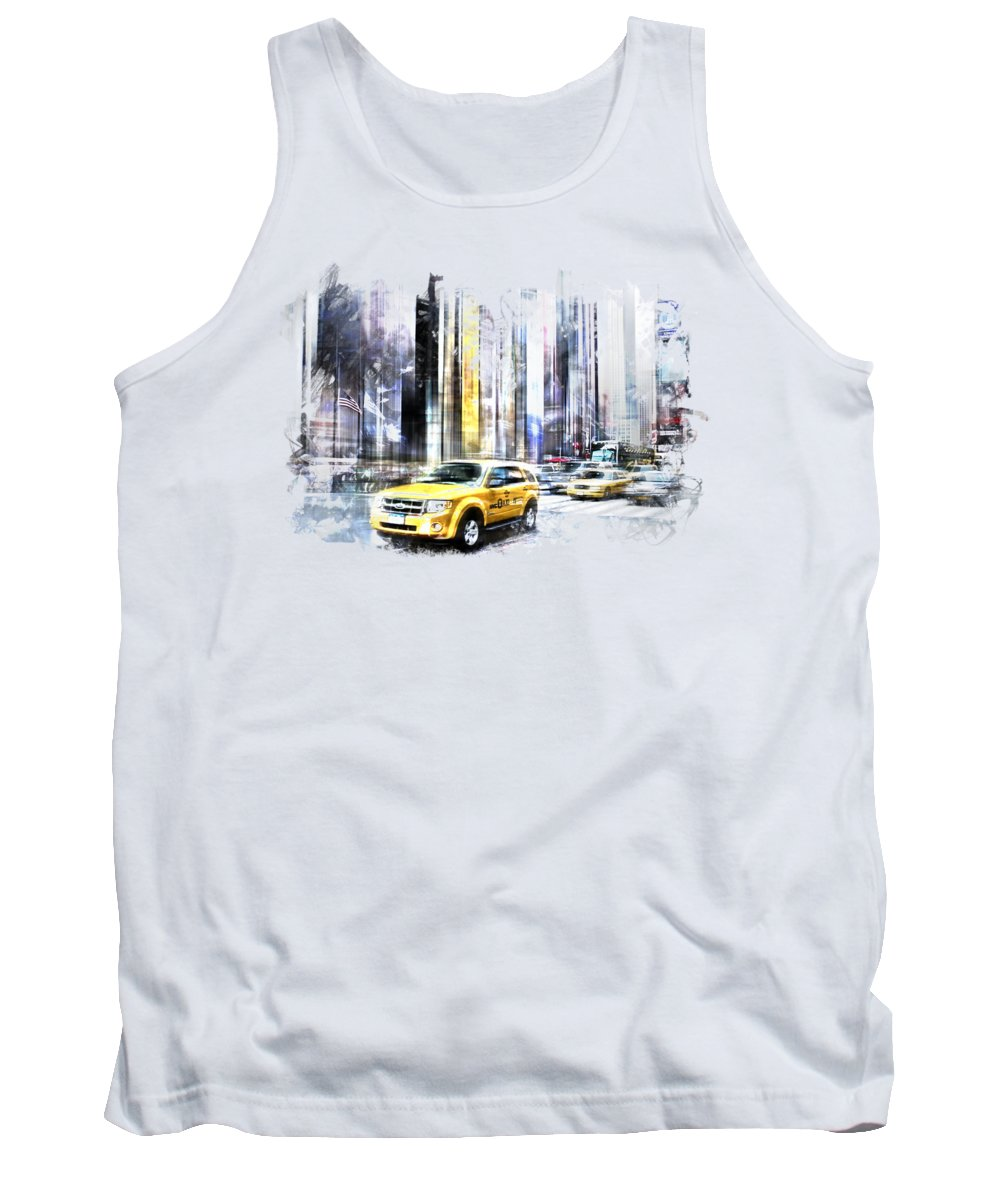 Times Square Tank Tops