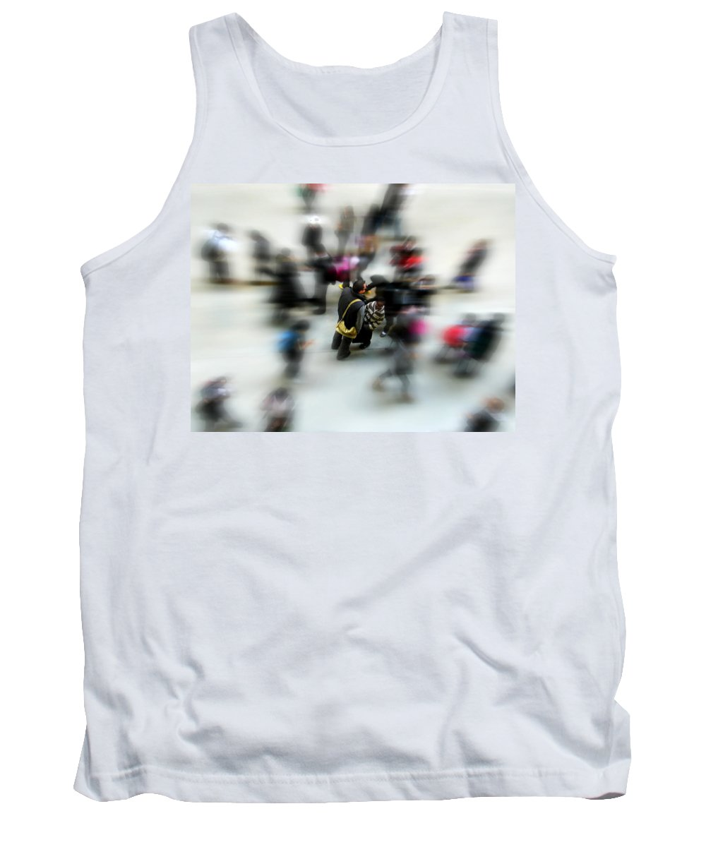 London Tank Top featuring the photograph City In Movement by Osvaldo Hamer