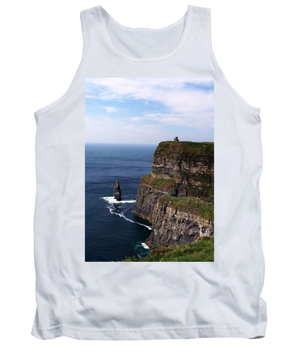 Irish Tank Top featuring the photograph Cliffs Of Moher County Clare Ireland by Teresa Mucha