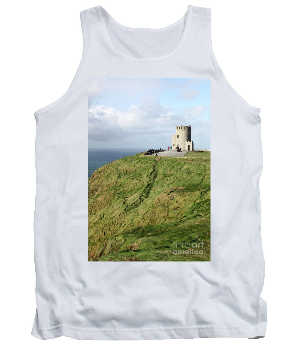 Ireland Green Island Cliffs Of Moher Cliffsofmoher Nature Tank Top featuring the photograph Cliffs Of Moher by Daniel Klein