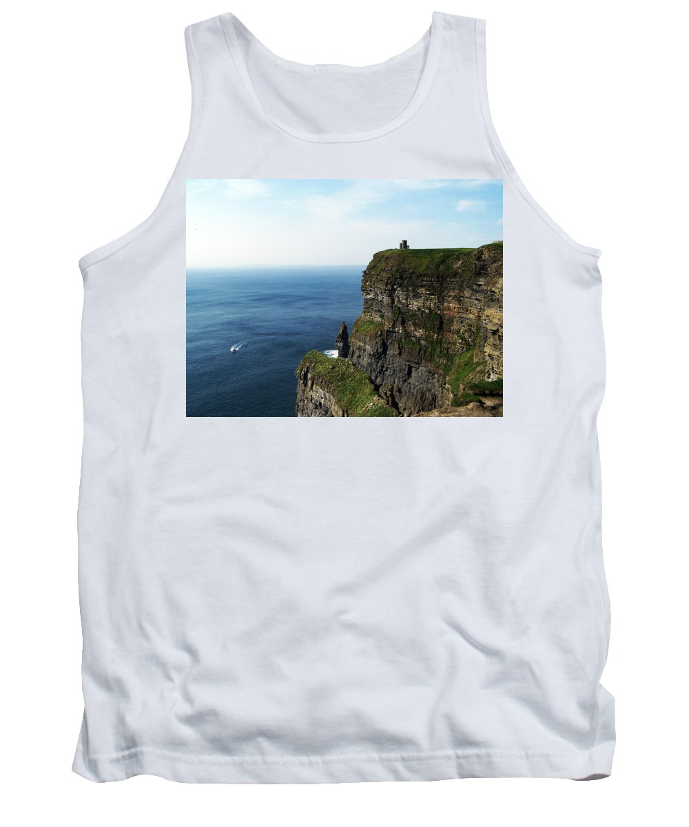 Irish Tank Top featuring the photograph Cliffs Of Moher Ireland by Teresa Mucha