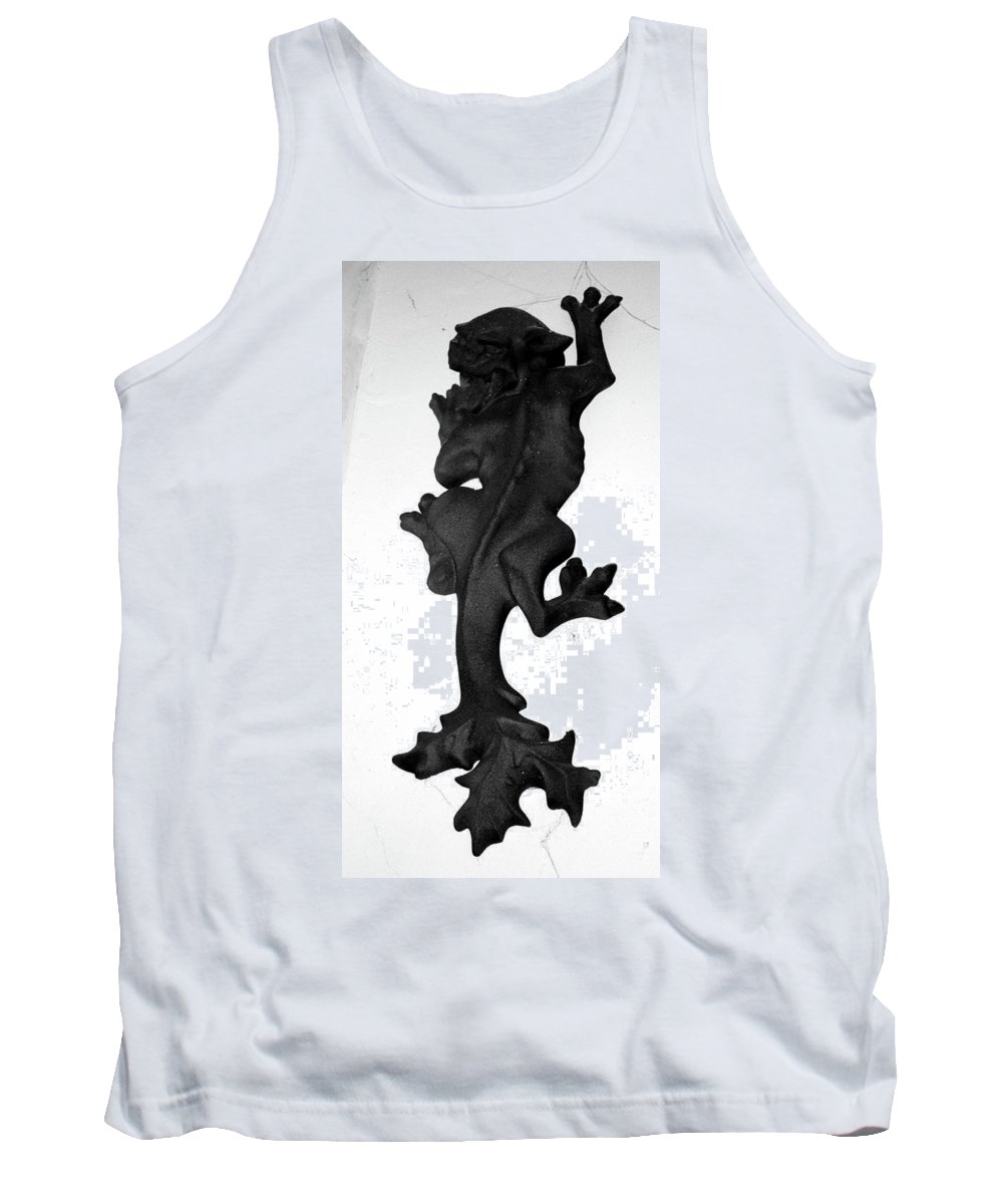 Statue Tank Top featuring the photograph Climbing The Walls by Erin Rosenblum