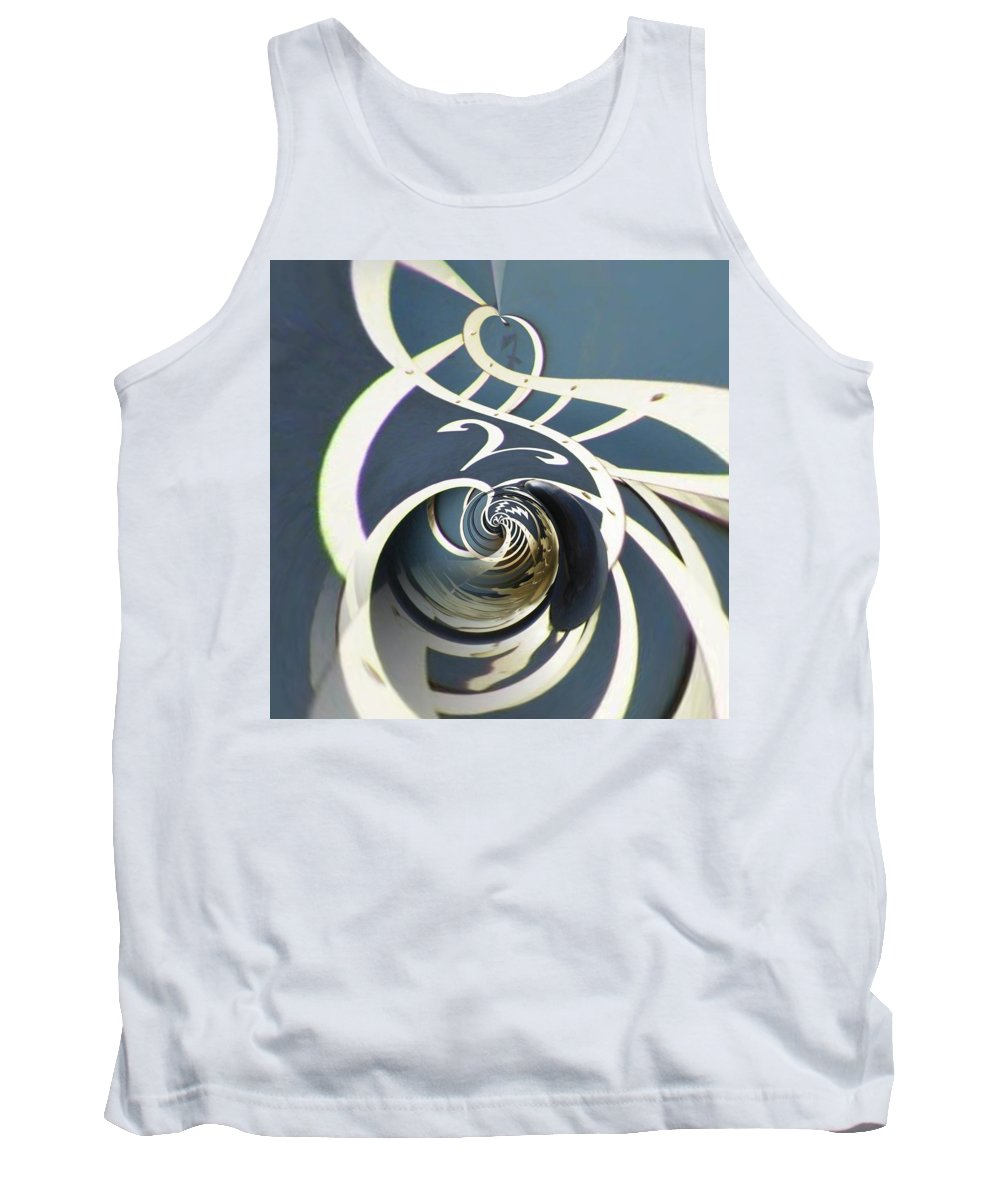 Clock Tank Top featuring the photograph Clockface 7 by Philip Openshaw