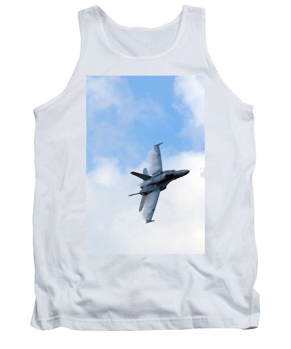 Us Tank Top featuring the photograph Cloud Cutter by Travis Rogers
