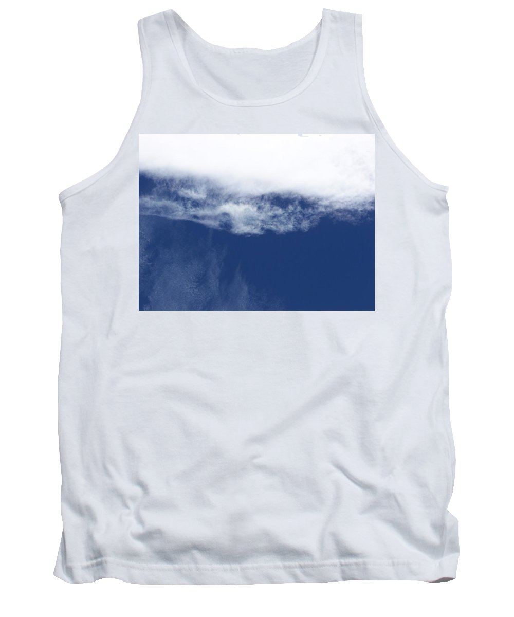 Strange Clouds Tank Top featuring the photograph Cloud12 by Kit Kay