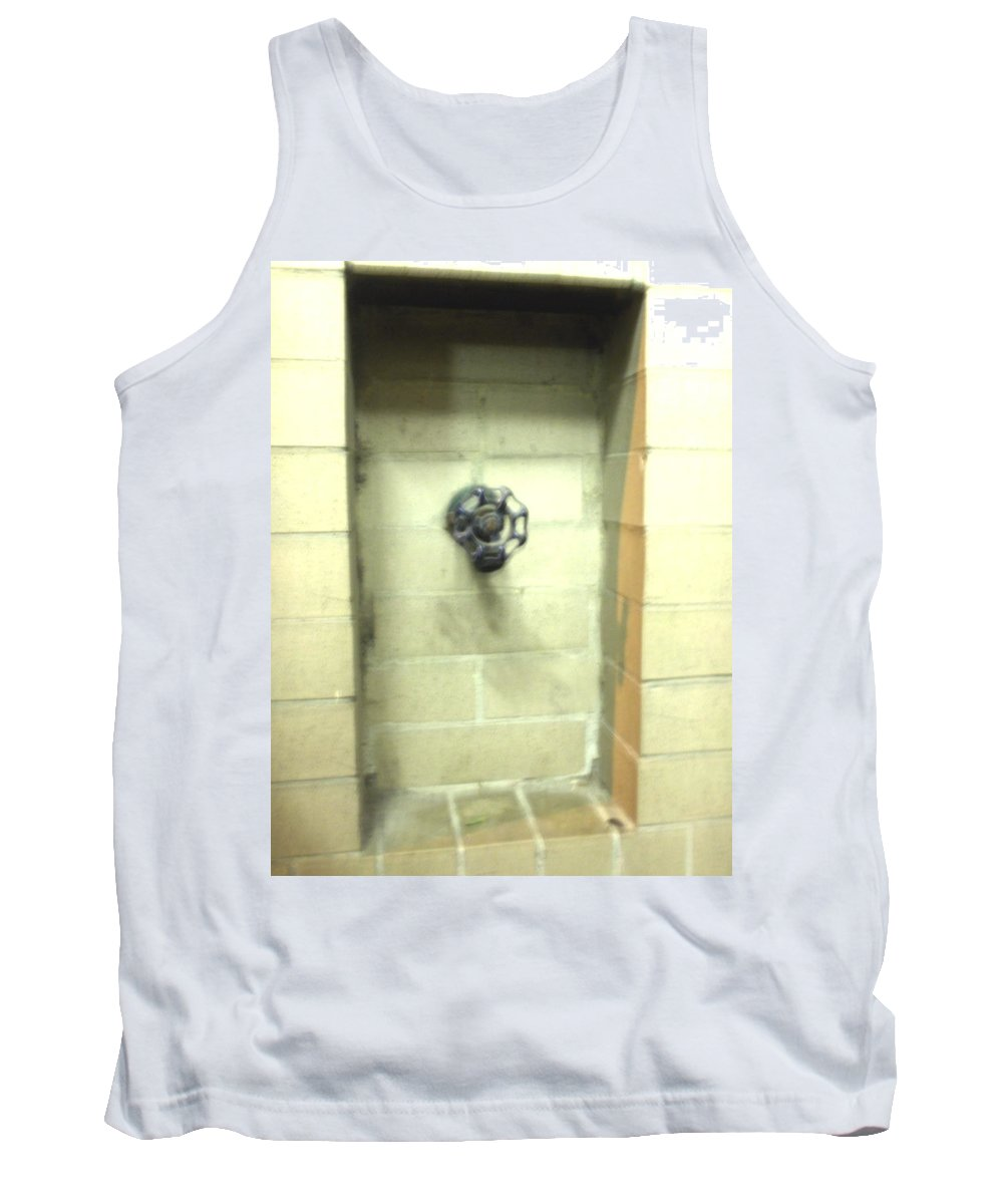 Color Photograph Tank Top featuring the photograph Color Spicket by Thomas Valentine