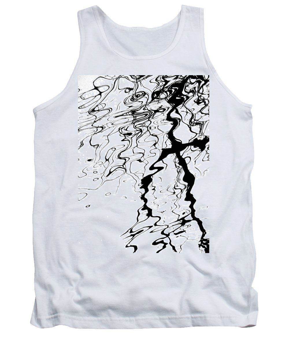 Water Tank Top featuring the photograph Comic Relief by Donna Blackhall