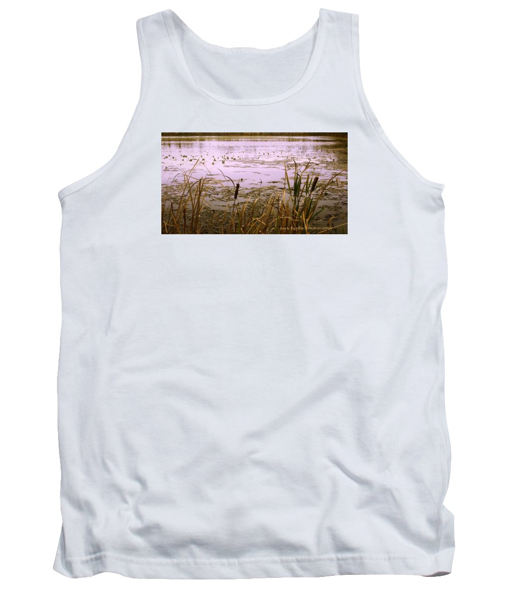 Water Tank Top featuring the photograph Cool Sunset At White City by Jack Ferlise