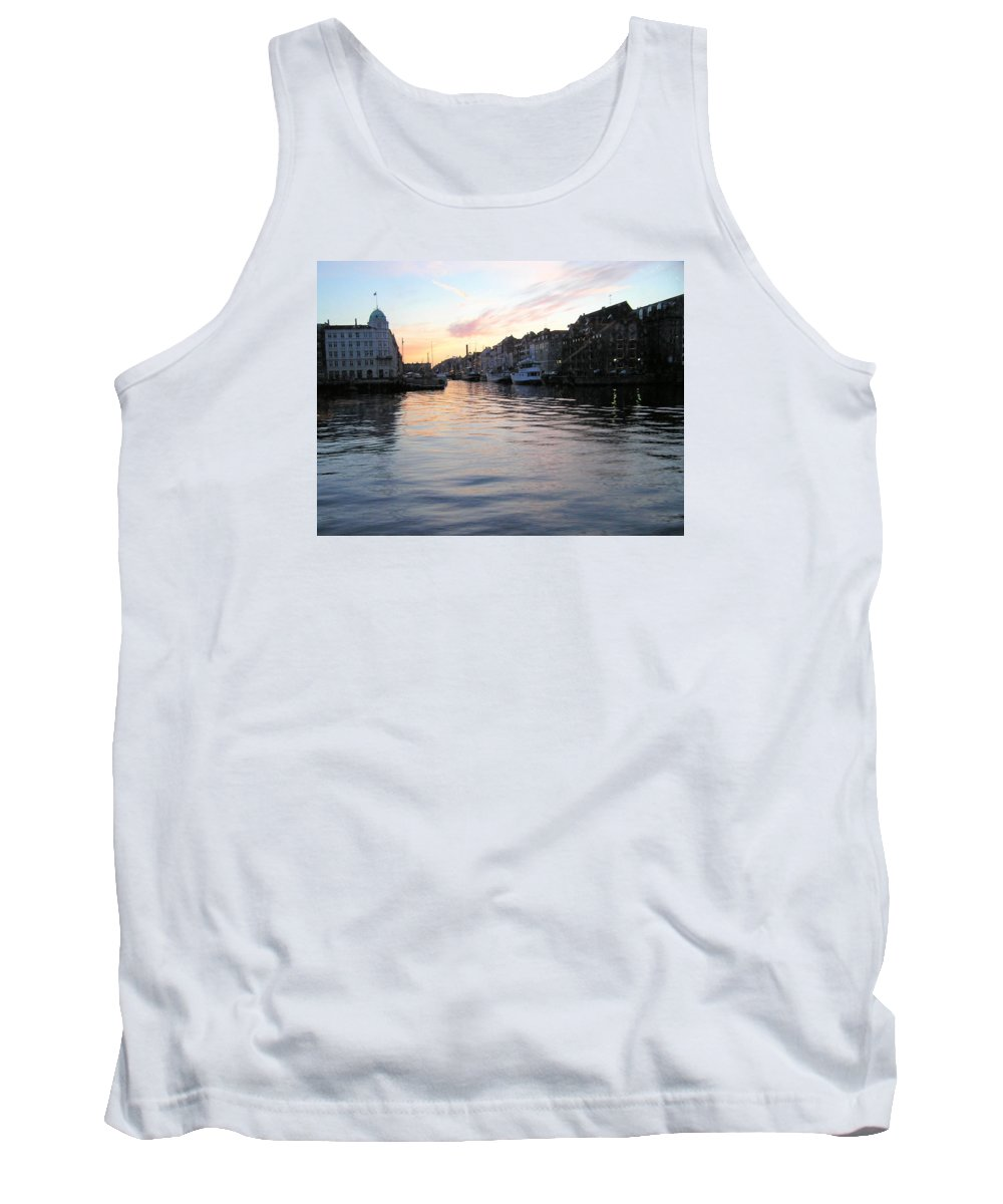 City Scape Tank Top featuring the photograph Copenhagen01 by Rogers