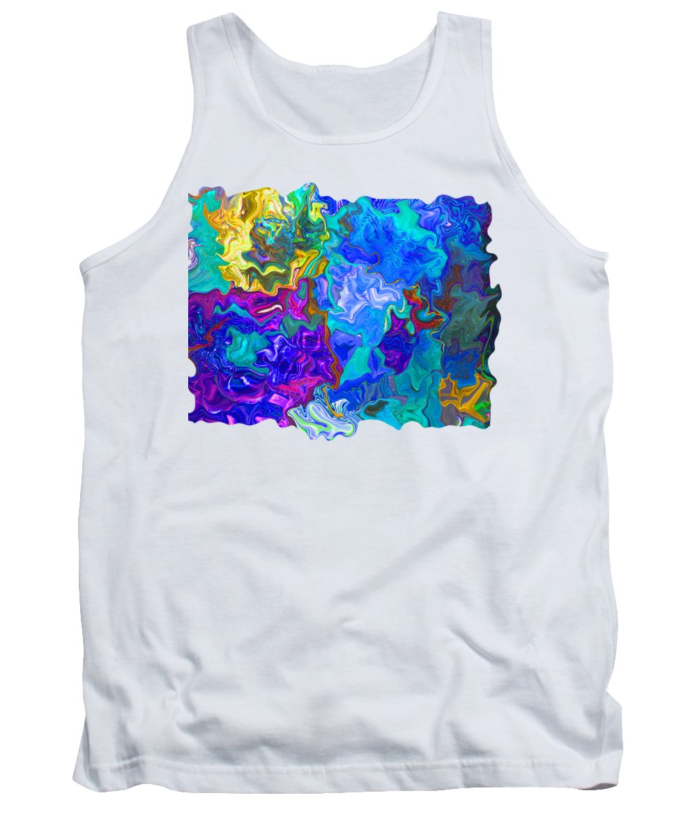 Art Photography Tank Top featuring the photograph Coral Reef Fantasy by Kathy Moll
