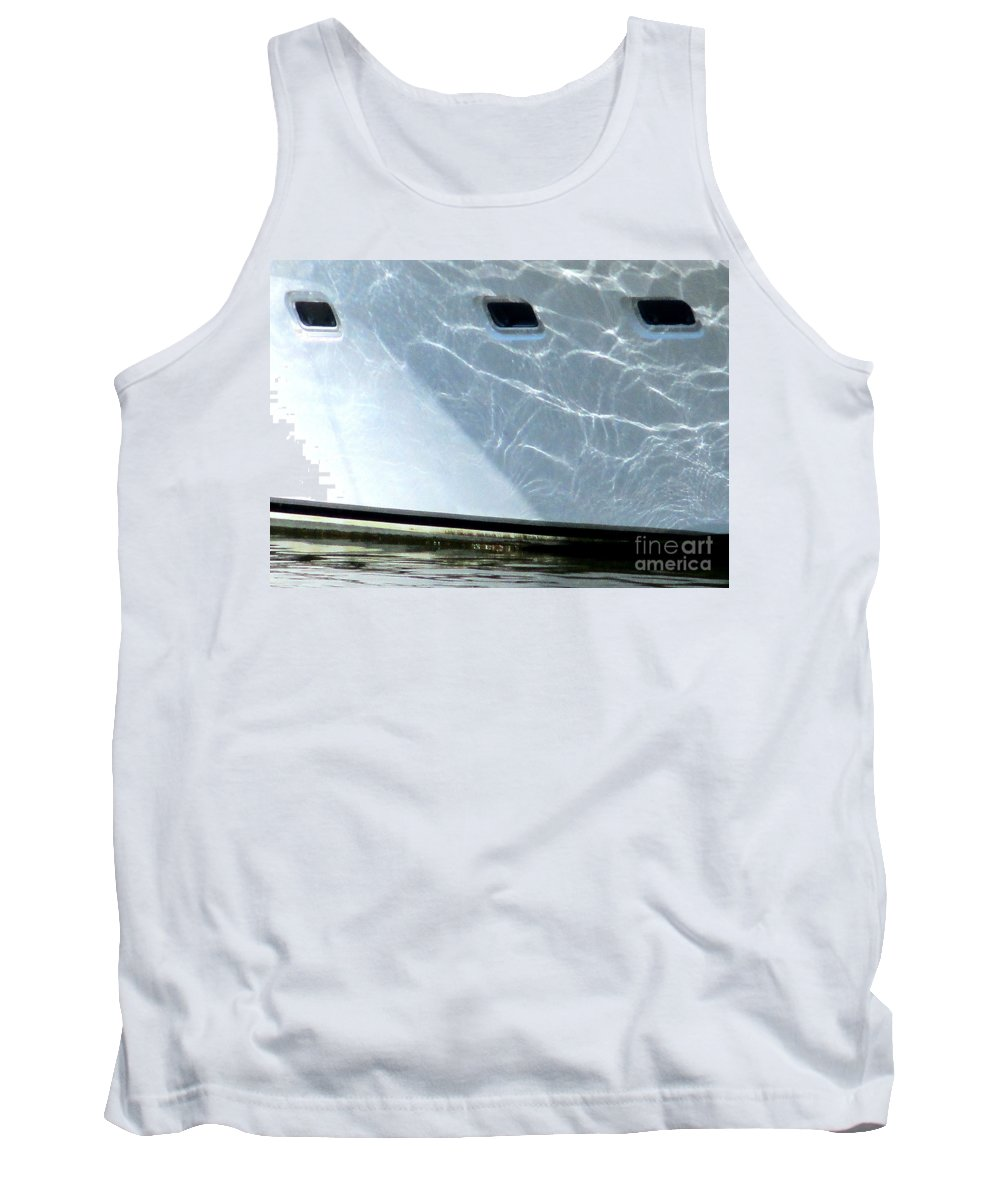 Costa Rica Tank Top featuring the photograph Costa Rica White 1 by Randall Weidner