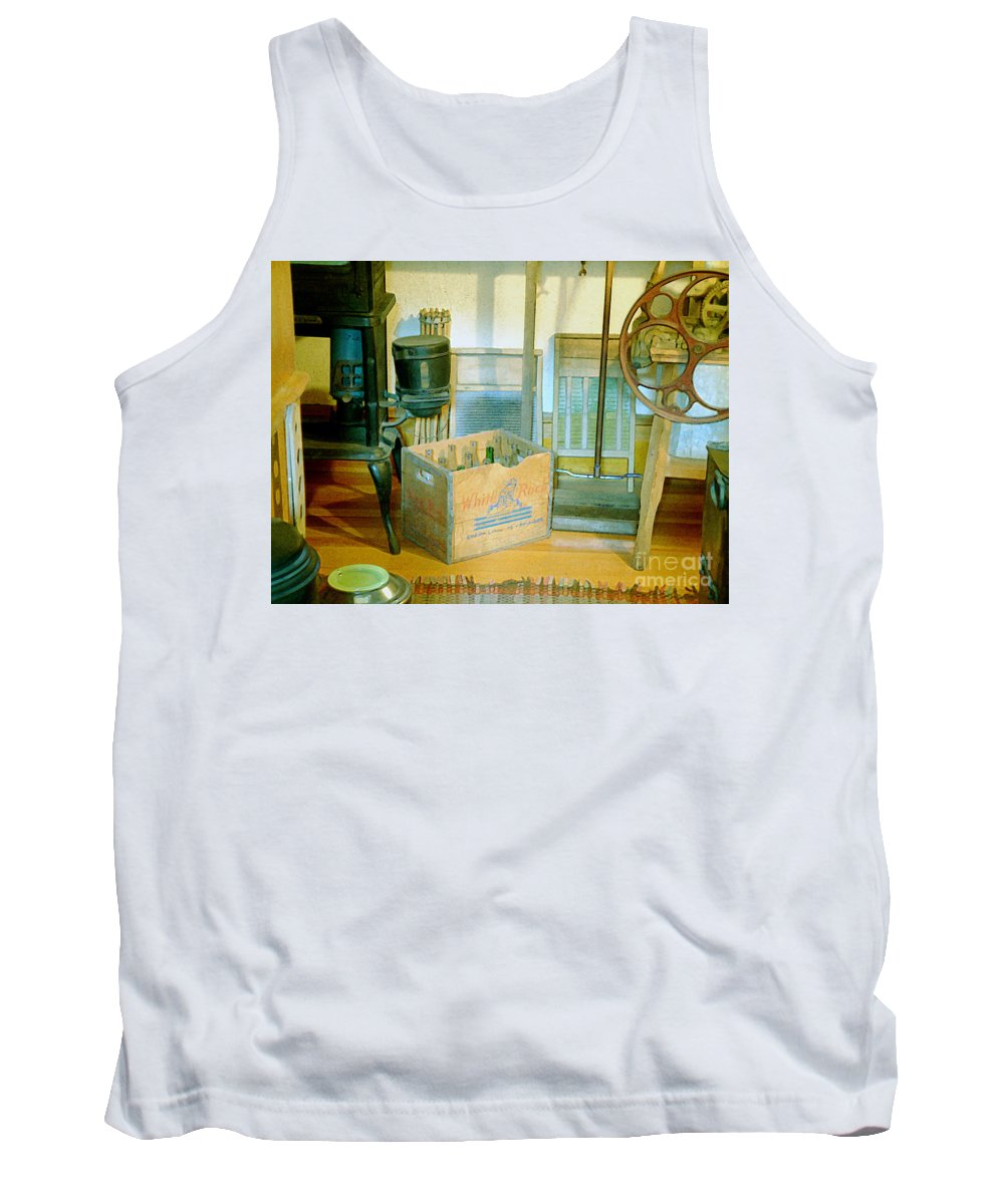 Kitchen Tank Top featuring the painting Country Kitchen Sunshine II by RC deWinter