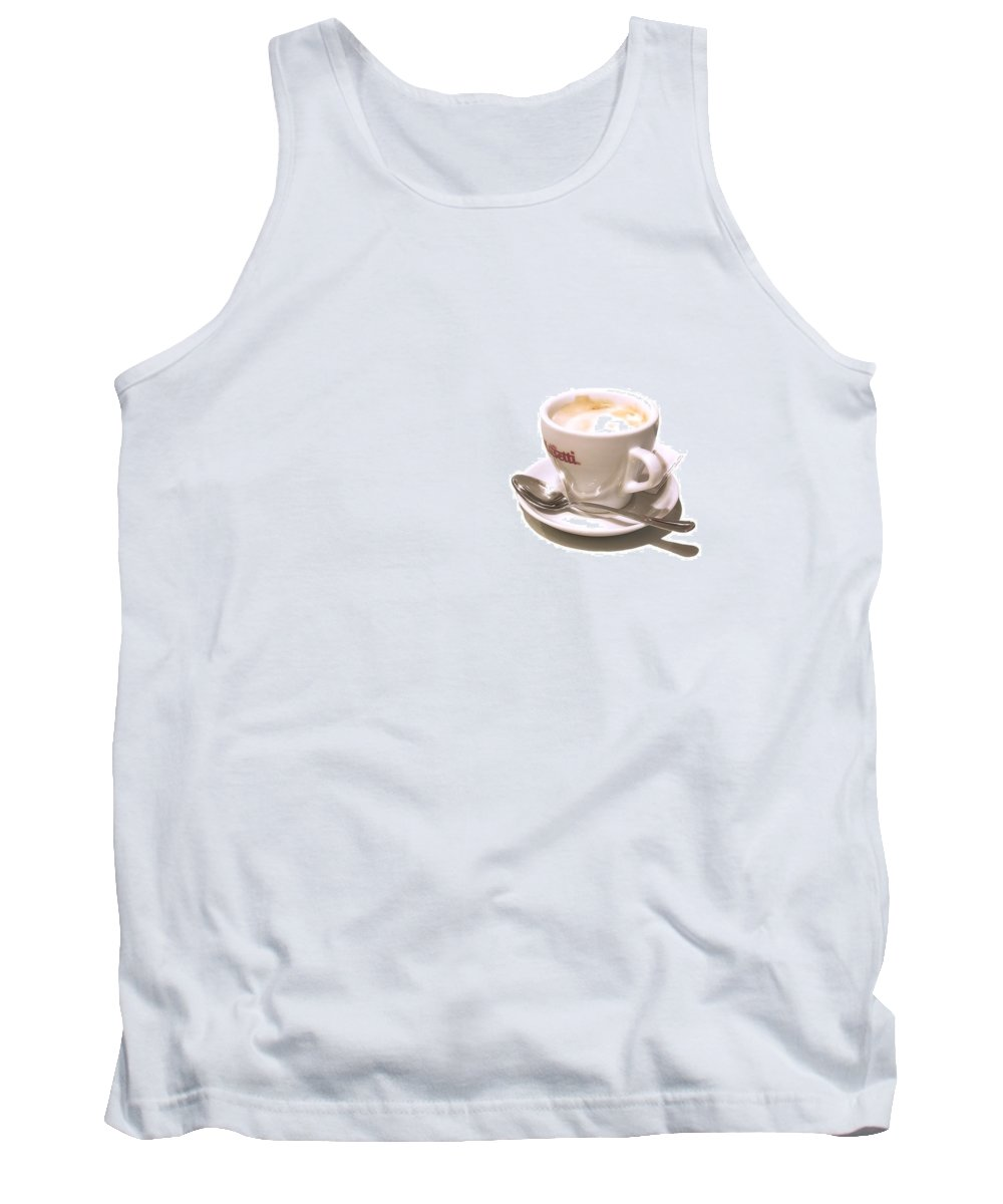 Coffee Tank Top featuring the photograph Cream And Sugar by Evelina Kremsdorf