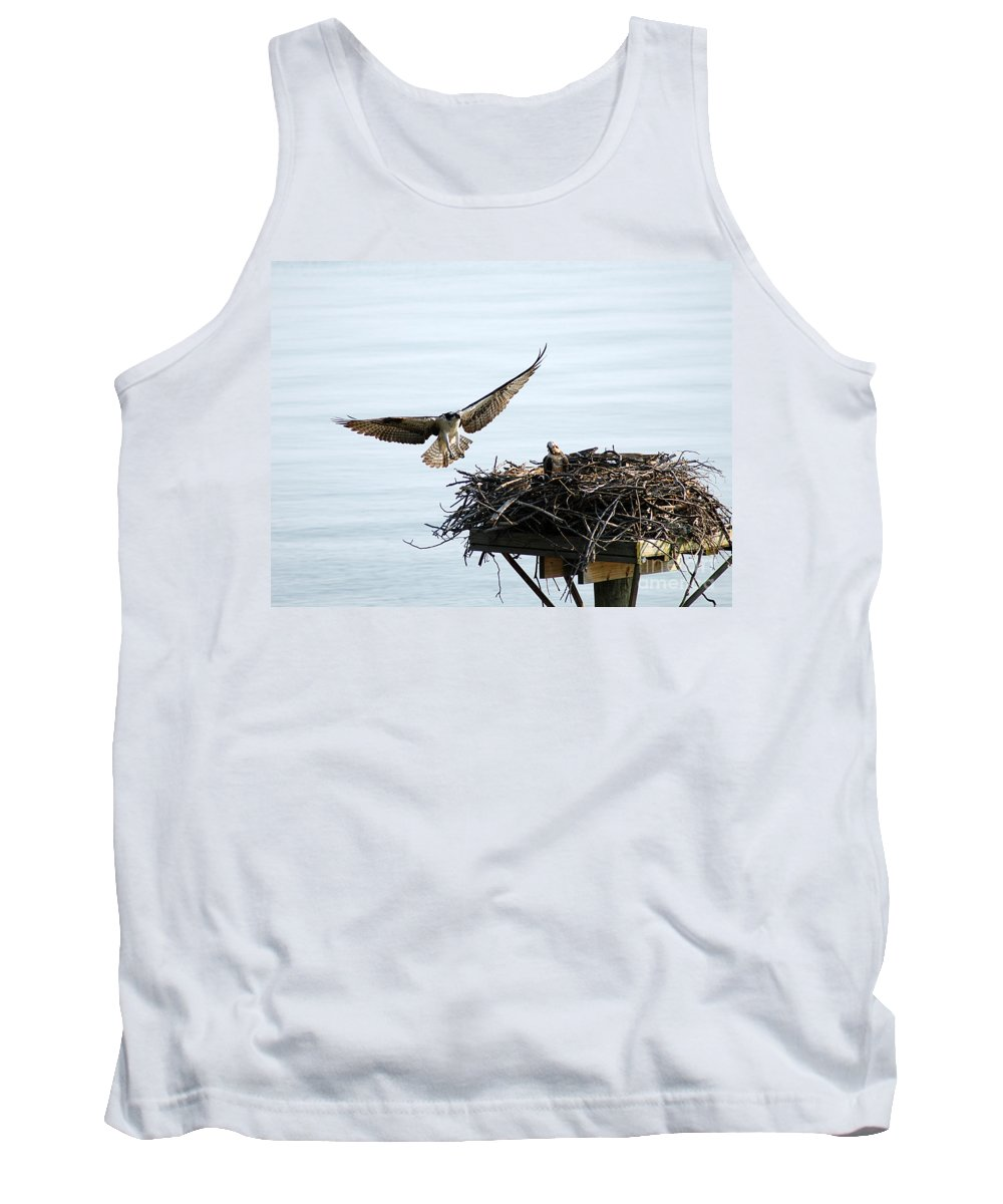 Clay Tank Top featuring the photograph Dads Home by Clayton Bruster