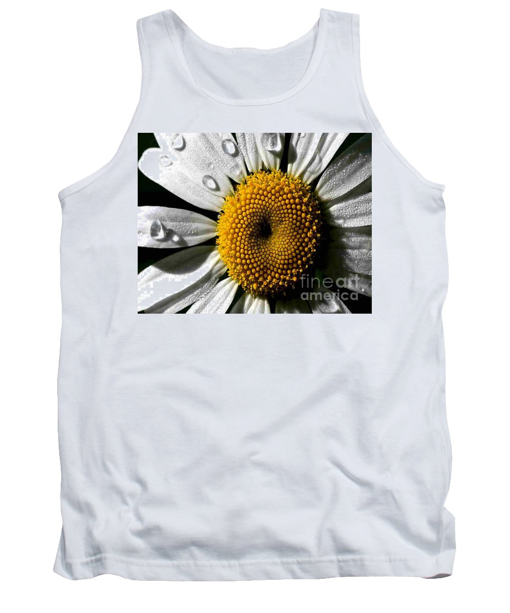 Daisy Tank Top featuring the photograph Daisy by Dragica Micki Fortuna