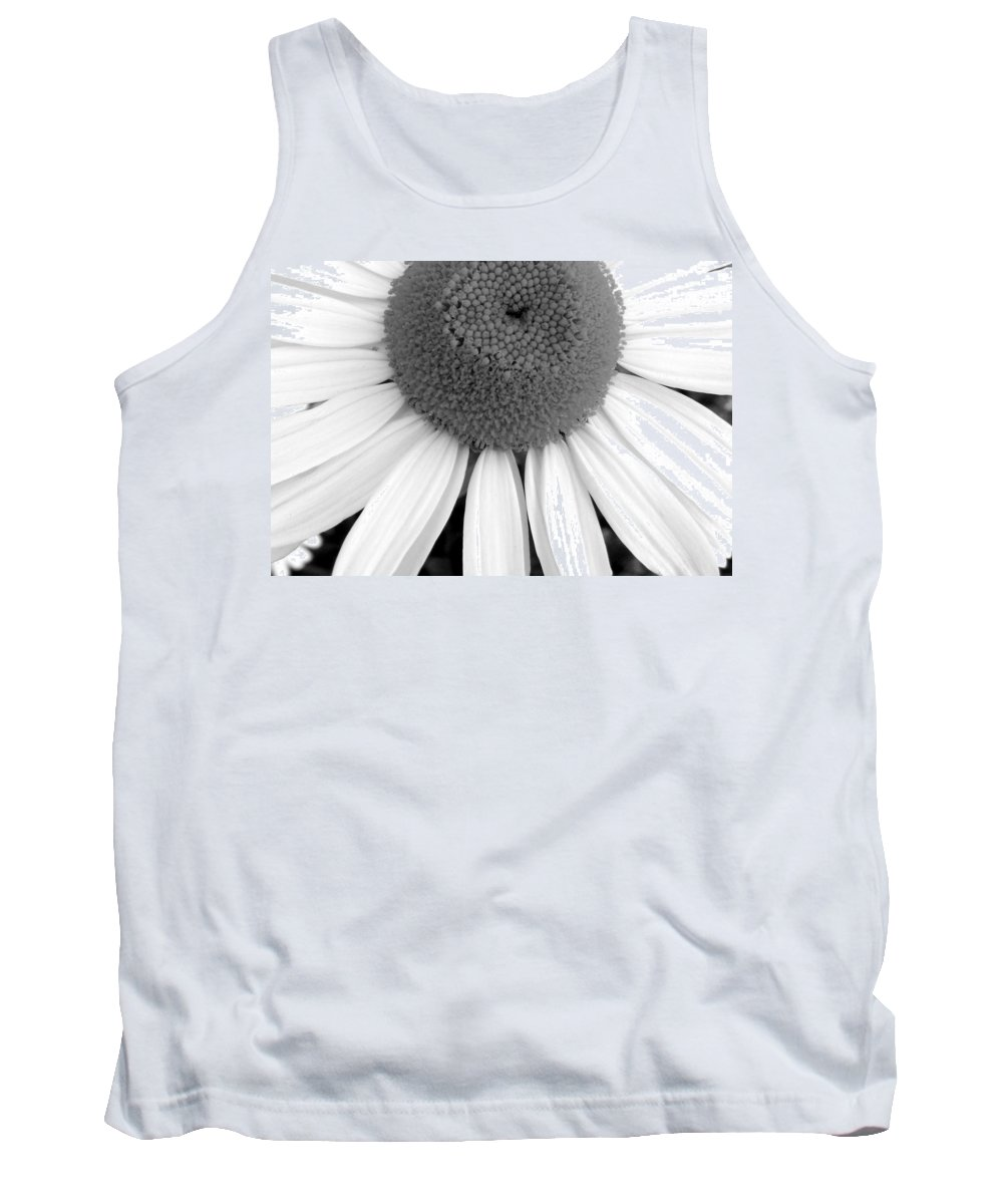 Still Life Tank Top featuring the photograph Daisy Study 2 by Ed Smith
