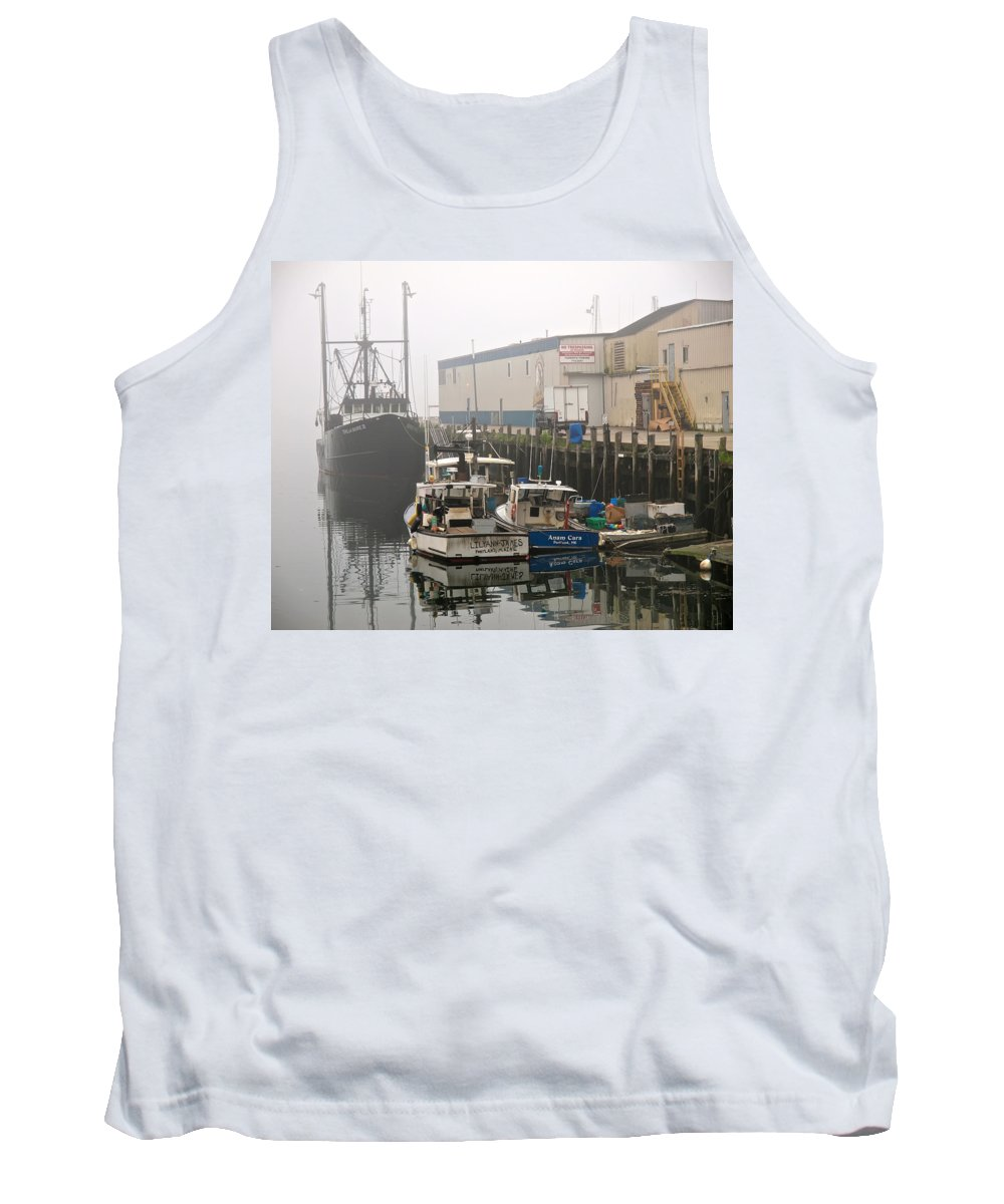 Weather Tank Top featuring the photograph Day Off by Bob Orsillo