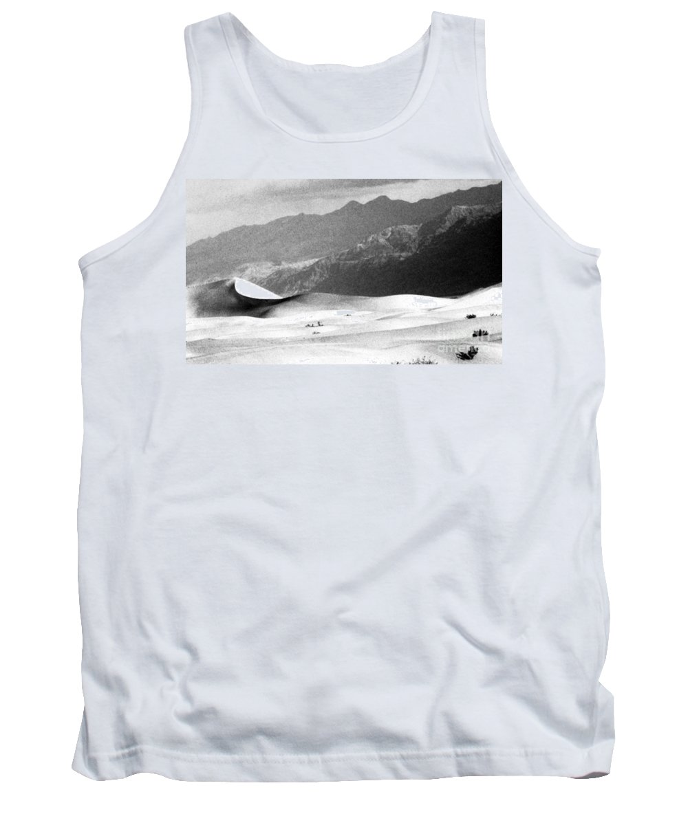 Western Scenes Tank Top featuring the photograph Death Valley 1977 by Norman Andrus