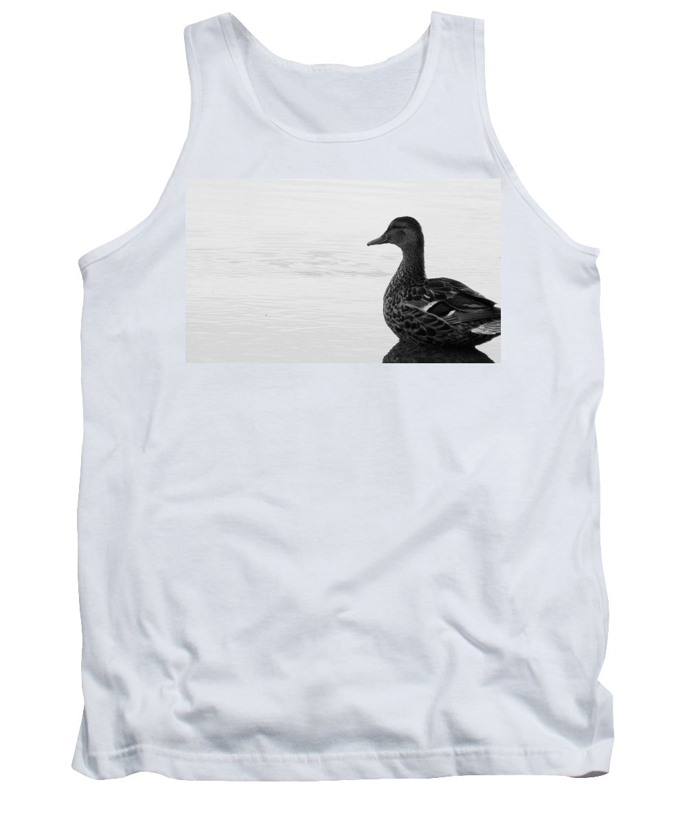 Bird Tank Top featuring the photograph Decoy by Ed Smith