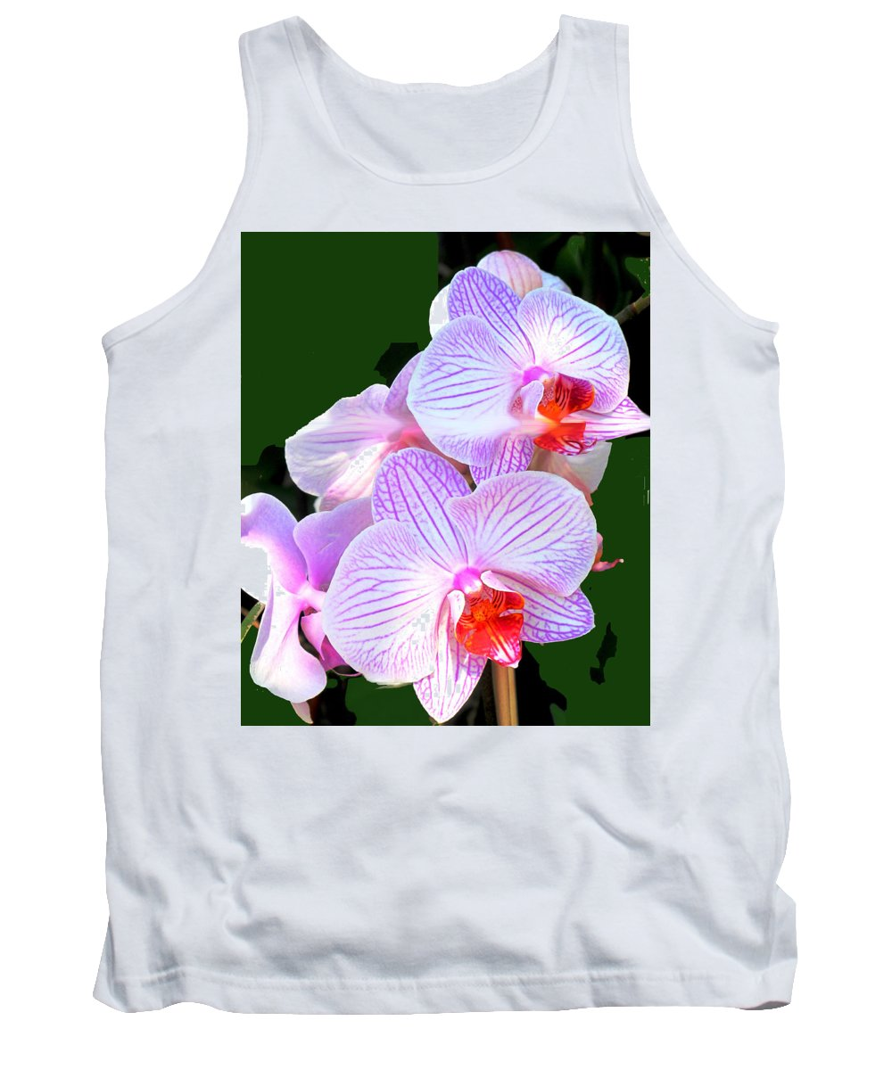 Flower Tank Top featuring the photograph Delicate by Ian MacDonald