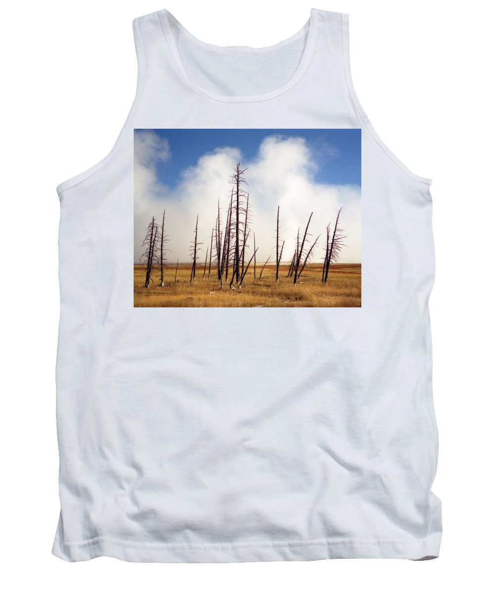 Desolation Tank Top featuring the photograph Desolation by Richard Rizzo