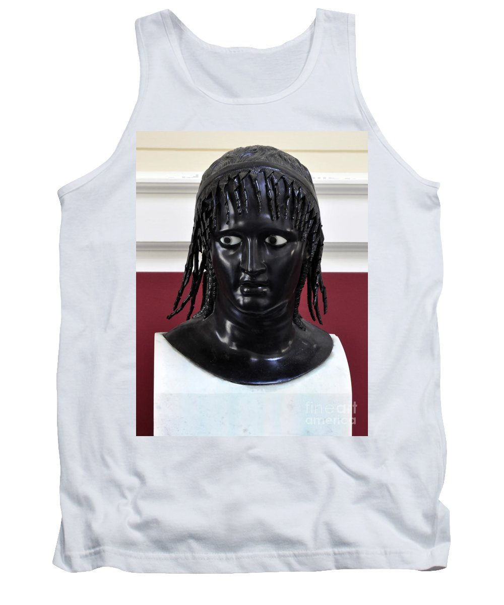 Clay Tank Top featuring the photograph Did You See That by Clayton Bruster