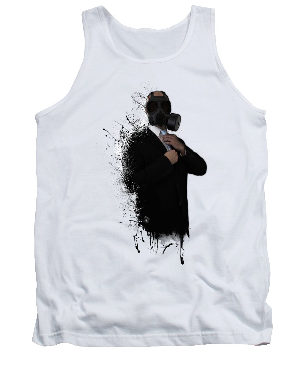 Gas Tank Top featuring the photograph Dissolution of man by Nicklas Gustafsson