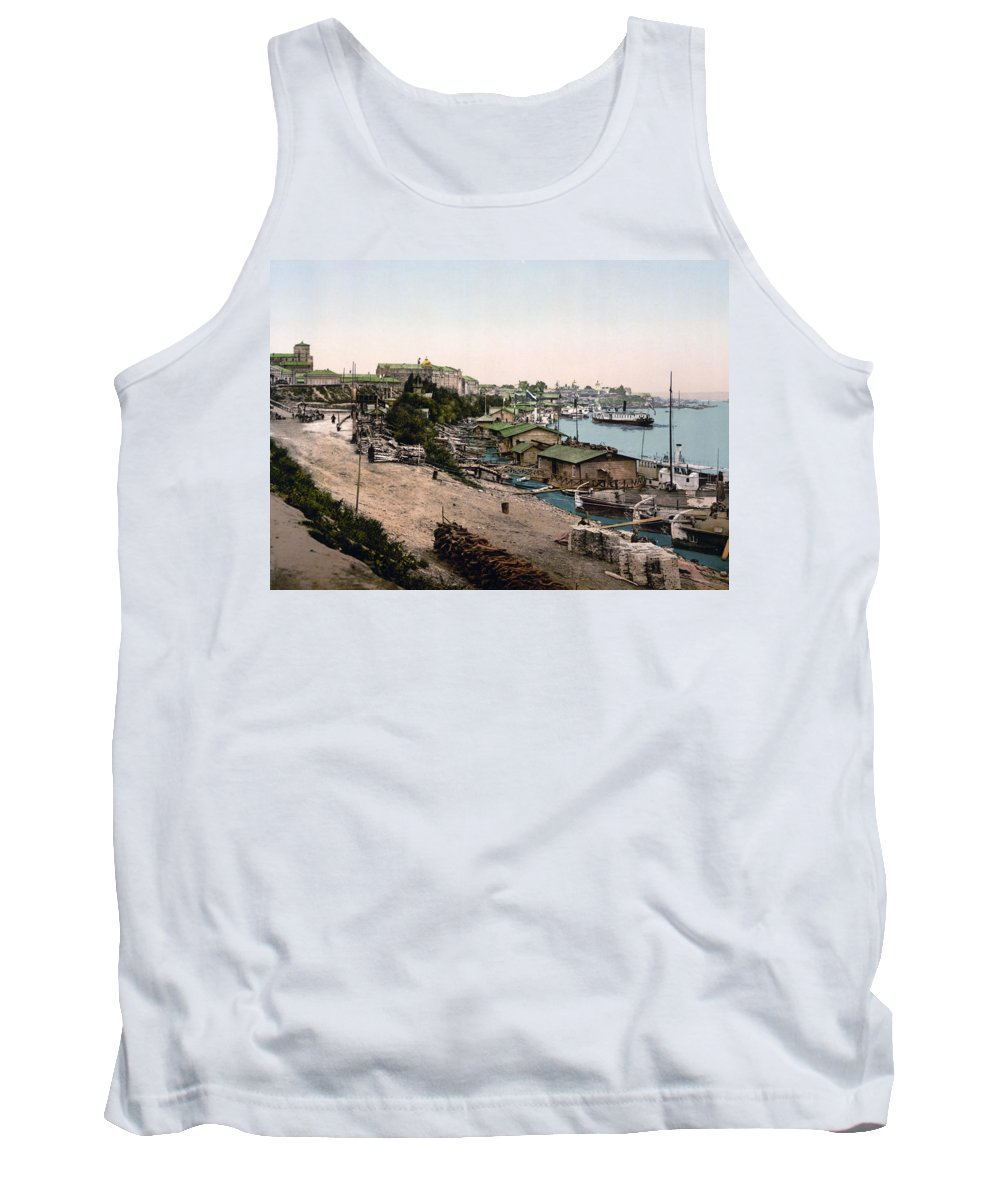Київ Tank Top featuring the photograph Dnieper River - Kiev - Ukraine - Ca 1900 by Dnieper RiverInternational Images