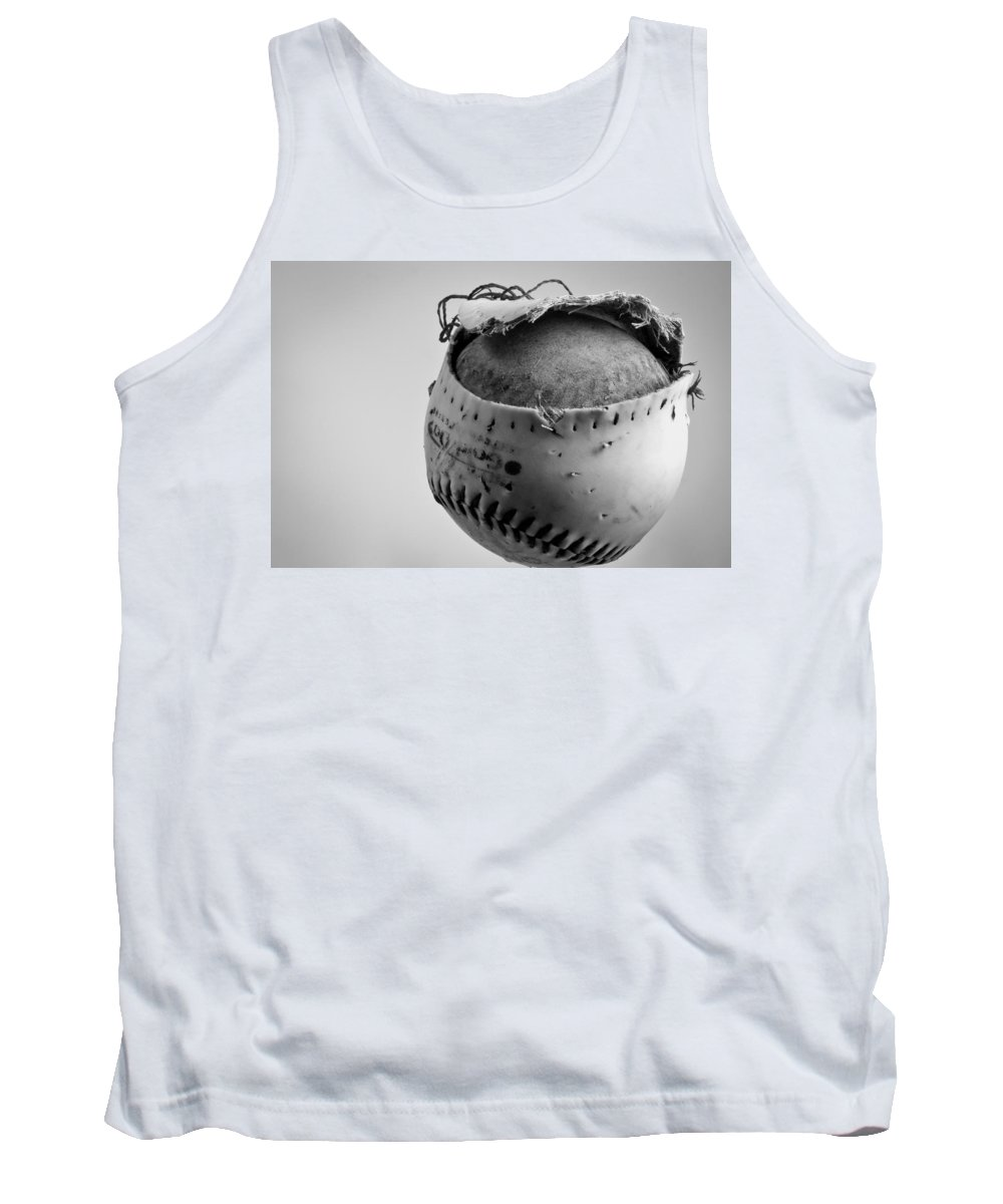 Dog's Ball Tank Top featuring the photograph Dog's Ball by Bob Orsillo