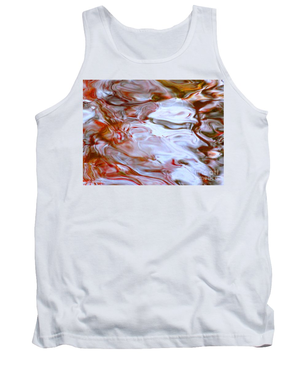 Abstract Tank Top featuring the photograph Nothing Is Sanctioned by Sybil Staples