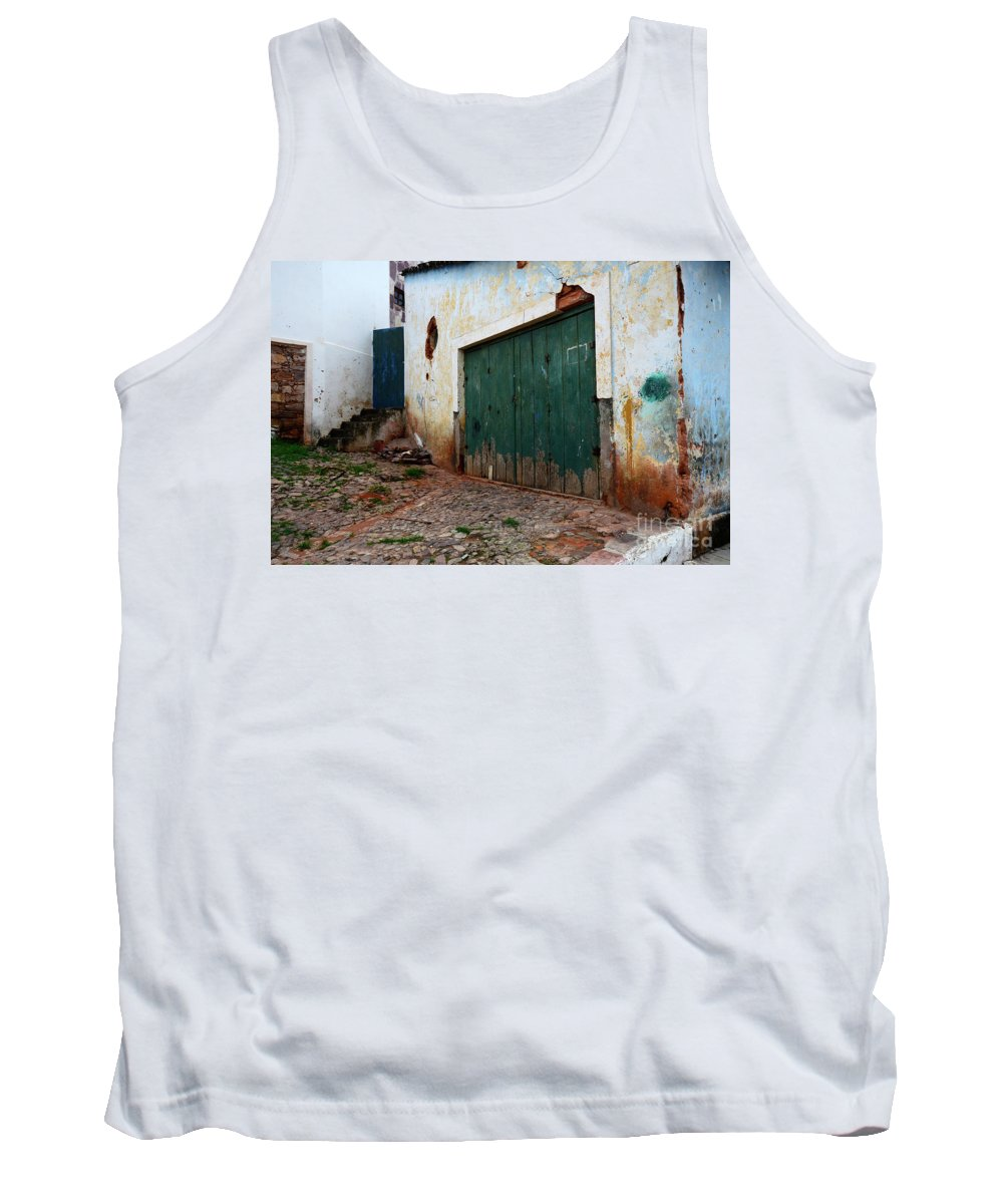 Door Tank Top featuring the photograph Doors And Windows Lencois Brazil 10 by Bob Christopher