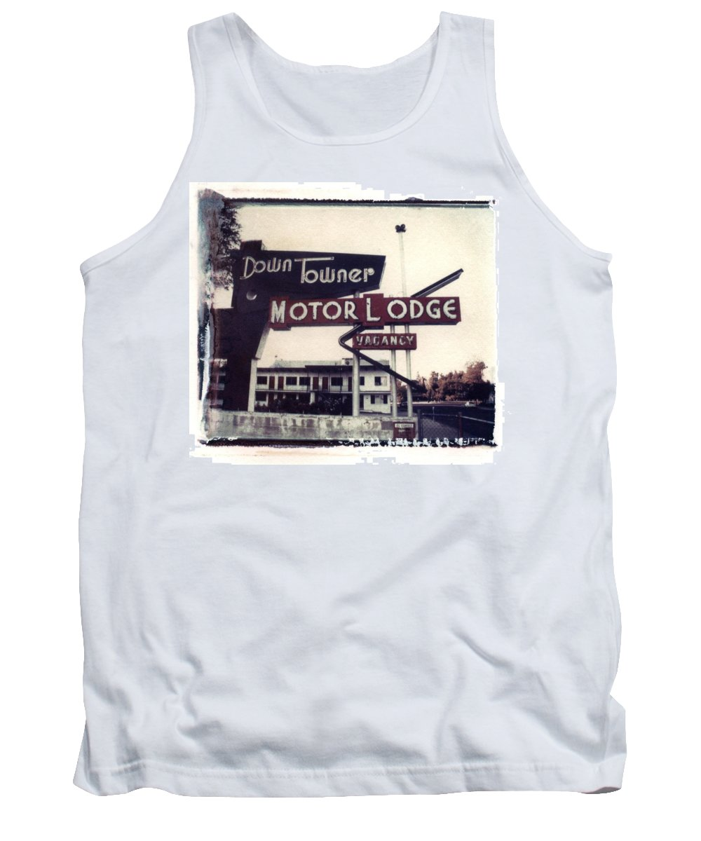 Landscape Tank Top featuring the photograph Down Towner by Jane Linders