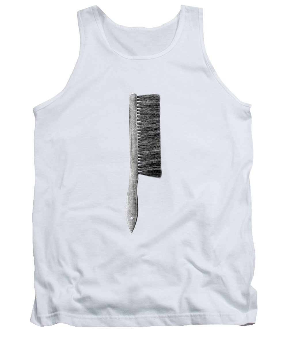 Art Tank Top featuring the photograph Drafting Brush by YoPedro