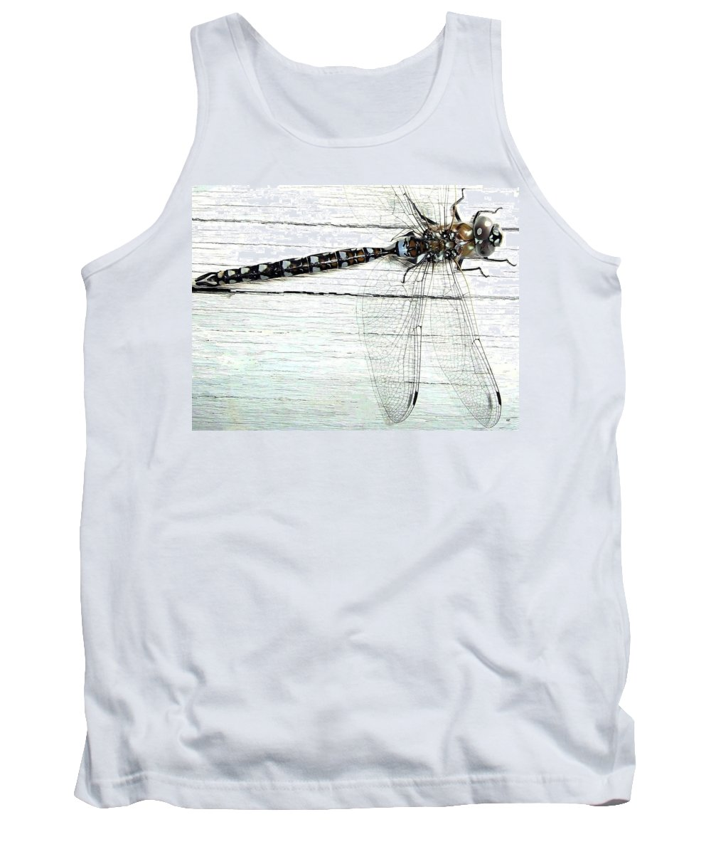 Insect Tank Top featuring the photograph Dragonfly by Will Borden