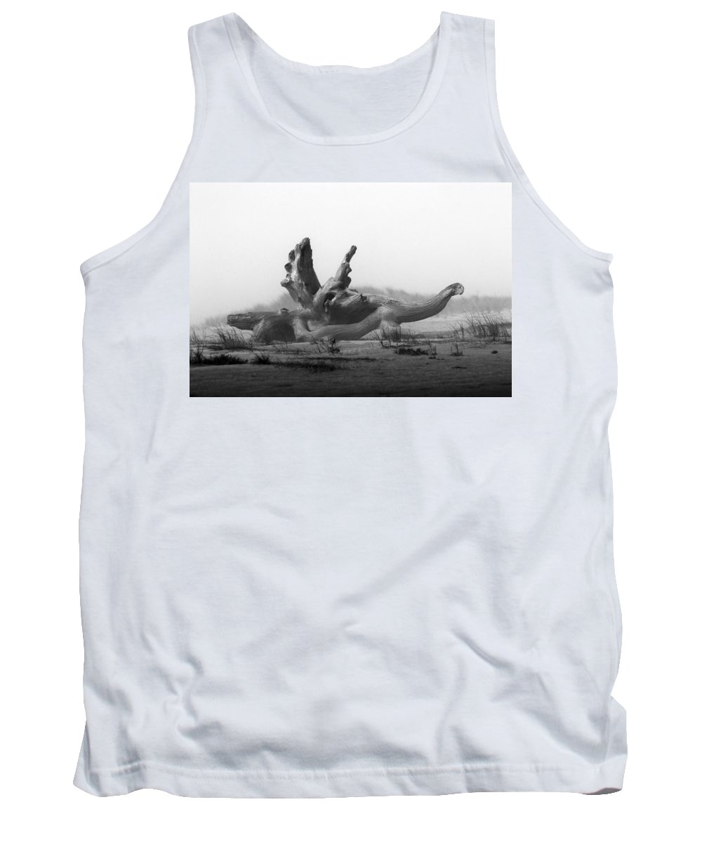 Dragon Tank Top featuring the photograph Dragonwood by Randall Ingalls